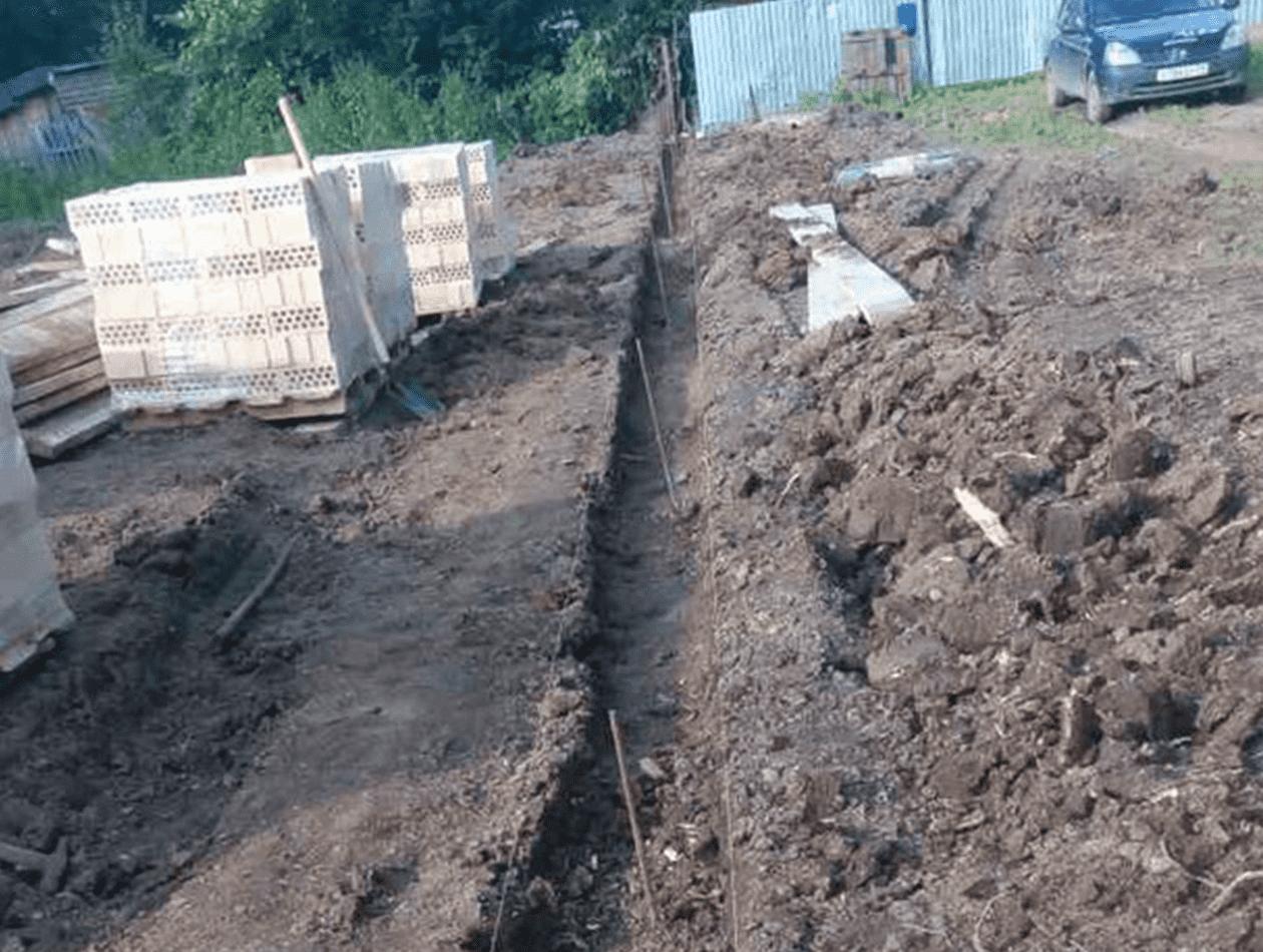 Подготовка грунта под устройство ростверков
