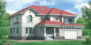 Проект кирпичного дома 30-60