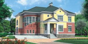 Проект кирпичного дома 31-14