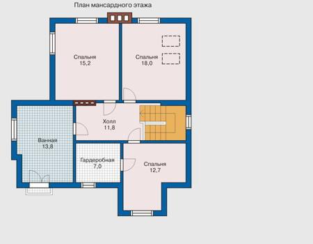 изображения проекта кирпичного дома 31-76