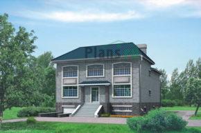 Проект кирпичного дома 32-11