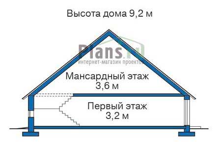 изображения проекта кирпичного дома 32-35