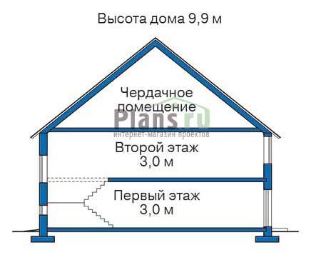 изображения проекта кирпичного дома 32-98