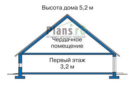 изображения проекта кирпичного дома 33-21