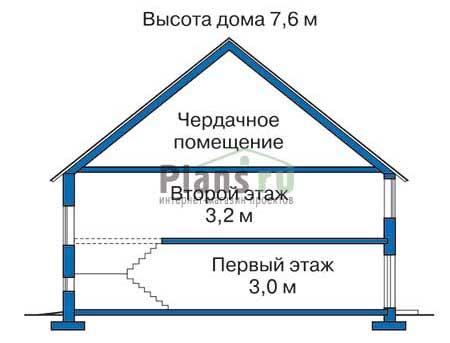изображения проекта кирпичного дома 33-23
