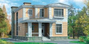 Проект кирпичного дома 33-27