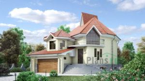 Проект кирпичного дома 34-37