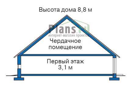 изображения проекта кирпичного дома 34-68