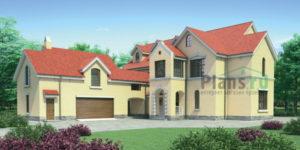Проект кирпичного дома 35-16