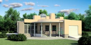 Проект кирпичного дома 35-93