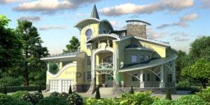 Проект кирпичного дома 36-24