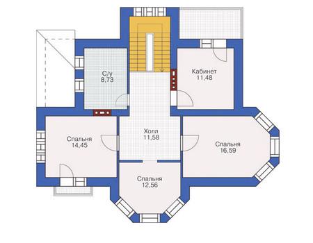изображения проекта кирпичного дома 36-43