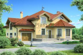 Проект кирпичного дома 36-93