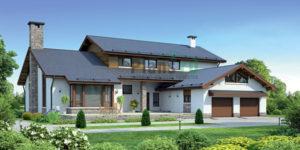 Проект кирпичного дома 37-85