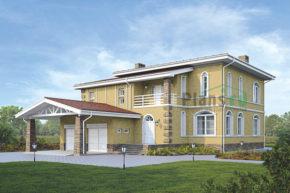Проект кирпичного дома 39-37