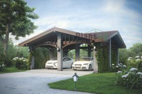 Проект кирпичного дома 39-67