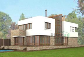 Проект кирпичного дома 40-60