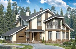 Проект кирпичного дома 40-79