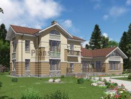 Проект кирпичного дома 41-66