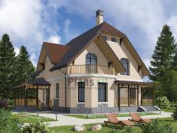 Проект кирпичного дома 42-01