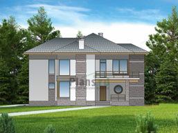 Проект кирпичного дома 43-99