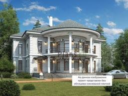 Проект кирпичного дома 45-56