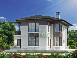 Проект кирпичного дома 45-73