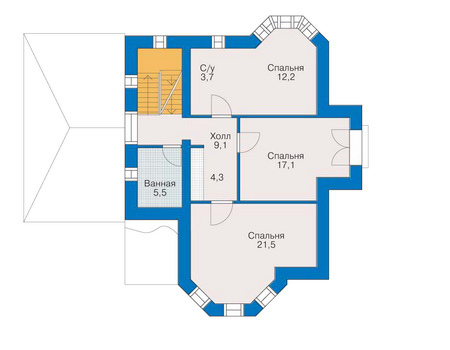 изображения проекта дома из пеноблоков 51-26