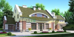 Проект дома из пеноблоков 52-92