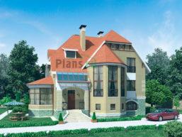 Проект кирпичного дома 53-28