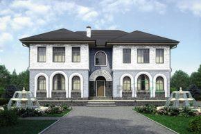 Проект дома из пеноблоков 56-63