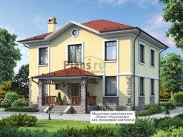 Проект дома из пеноблоков 62-93