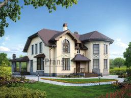 Проект дома из пеноблоков 63-31