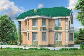 Проект кирпичного дома 71-78